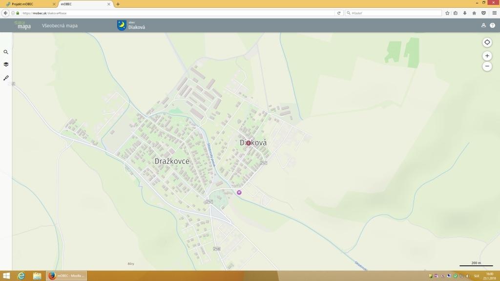 1780c63dc Mapový portál | Diaková | Oficiálne stránky obce